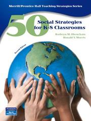 Cover of: 50 Social Studies Strategies for K-8 Classrooms (2nd Edition) (50 Teaching Strategies Series) | Kathryn M. Obenchain