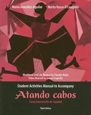 Cover of: Atando Cabos Student Activities Manual | Claudia Mejia