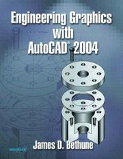 Cover of: Engineering Graphics with AutoCAD 2004