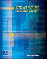 Cover of: Strategies for Correct Writing | Longman