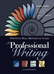 Cover of: Prentice Hall Reference Guide for Professional Writing (MyCompLab Series)