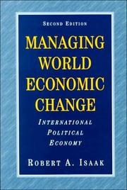 Cover of: Managing world economic change
