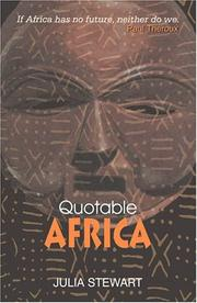 Cover of: Stewart's quotable Africa