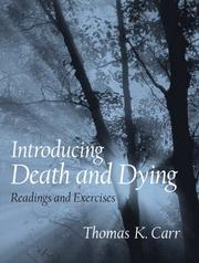 Cover of: Introducing Death and Dying
