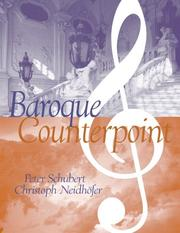 Cover of: Baroque counterpoint
