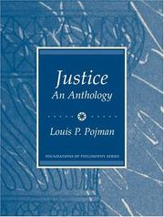 Cover of: Justice: An Anthology (Foundations of Philosophy)