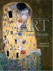 Cover of: Art | Marilyn Stokstad