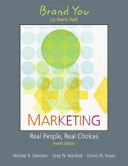 Cover of: Supplement: Brand You - Marketing: Real People, Real Choices | Michael Solomon