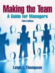 Cover of: Making the Team