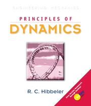 Cover of: Principles of Dynamics (10th Edition) | Russell C. Hibbeler