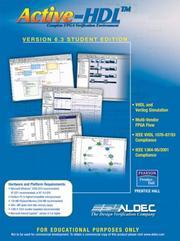 Active-hdl 6. 3 student edition: inc aldec: 9780131866973.