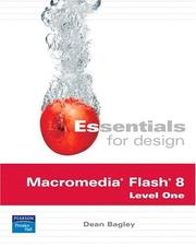 Cover of: Essentials for Design Macromedia Flash 8 Level One (2nd Edition) (Essentials for Design) | Dean Bagley