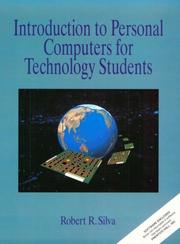 Cover of: Introduction to personal computers for technology students