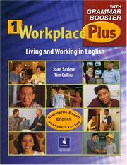 Cover of: Workplace Plus 1 with Grammar Booster | Joan M. Saslow