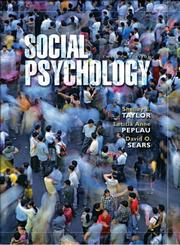 Cover of: Social psychology