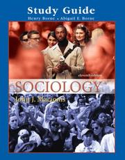 Cover of: Supplement: Study Guide - Sociology | Pearson