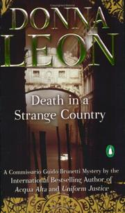Cover of: Death in a strange country