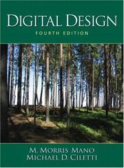 Cover of: Digital Design (4th Edition) | M. Morris Mano