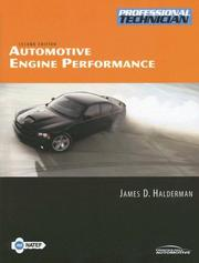 Cover of: Automotive Engine Performance (2nd Edition)/Text/Worktext/CD
