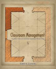 Cover of: Classroom Management for All Teachers | Ennio Cipani