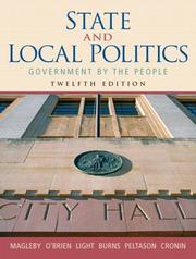 Cover of: State and local politics