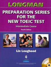 Cover of: Longman Preparation Series for the New TOEIC(R) Test | Lin Lougheed
