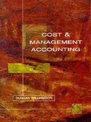 Cover of: Cost and Management Accounting