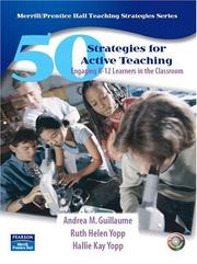 Cover of: 50 Strategies for Active Teaching | Andrea M. Guillaume