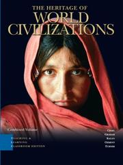 Cover of: Heritage of World Civilizations, TLC edition, Combined Volume