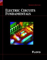 Cover of: Electric Circuit Fundamentals (7th Edition)