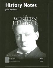 Cover of: Western Heritage Vol2 TLC Edit Chap 13-30