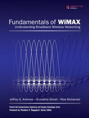 Cover of: Fundamentals of WiMAX | Jeffrey G. Andrews