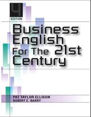 Cover of: Business English for the 21st century | Pat Taylor Ellison