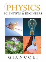 Cover of: Physics for Scientists & Engineers