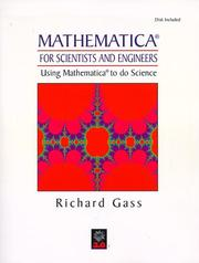 Cover of: Mathematica for Scientists and Engineers