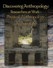 Cover of: Physical Anthropology & Archaeology | Carol R. Ember