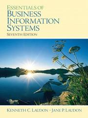 Cover of: Essentials of business information systems