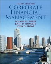 Cover of: Corporate Financial Management (3rd Edition) | Douglas R. Emery