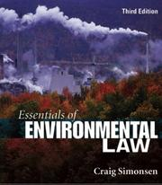 Essentials of Environmental Law (3rd Edition)
