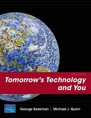 Cover of: Tomorrow's Technology and You, Complete