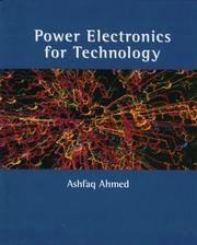 Cover of: Power electronics for technology