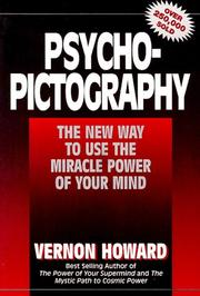 Cover of: Psycho-pictography | Vernon Linwood Howard