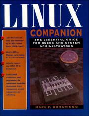 Cover of: Linux companion