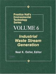 Cover of: Prentice Hall's Environmental Technology Series, Volume VI