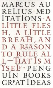 Cover of: Meditations