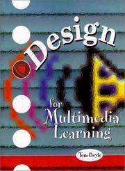 Cover of: Design for multimedia learning | Tom Boyle