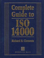Cover of: Complete guide to ISO 14000
