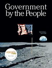 Cover of: Government By the People, National Version (22nd Edition) (Government by the People) | David B. Magleby