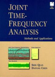 Cover of: Joint time-frequency analysis
