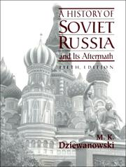 Cover of: A history of Soviet Russia and its aftermath